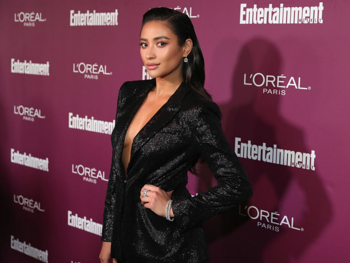 SHAY MITCHELL at 2017 Entertainment Weekly Pre-emmy Party in West Hollywood 09/15/2017