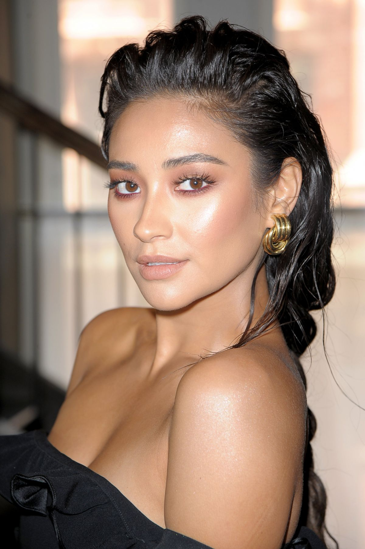 SHAY MITCHELL at Cinq A Dept Presentation at NYFW in New York 09/07/2017