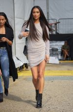 SHAY MITCHELL Leaves Naeem Khan Fashion Show at NYFW in New York 09/12/2017