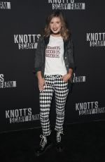 SHENAE GRIMES at Knott's Scary Farm Celebrity Night in Buena Park 09/29/2017