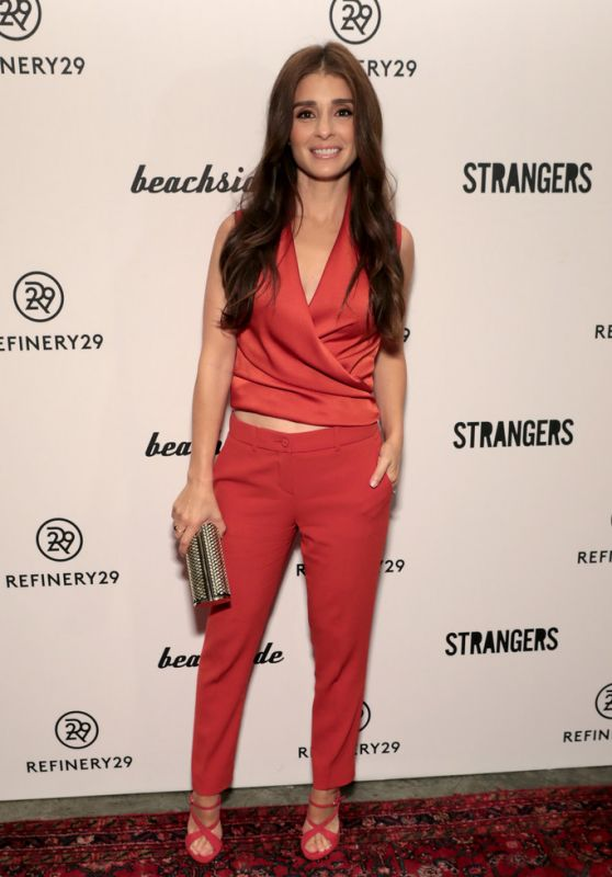 SHIRI APPLEBY at Refinery29 and Beachside Productions Strangers Series Party in New York 09/27/2017