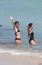 SHIRI APPLEBY in Bikini at a Beach in Miami 09/20/2017