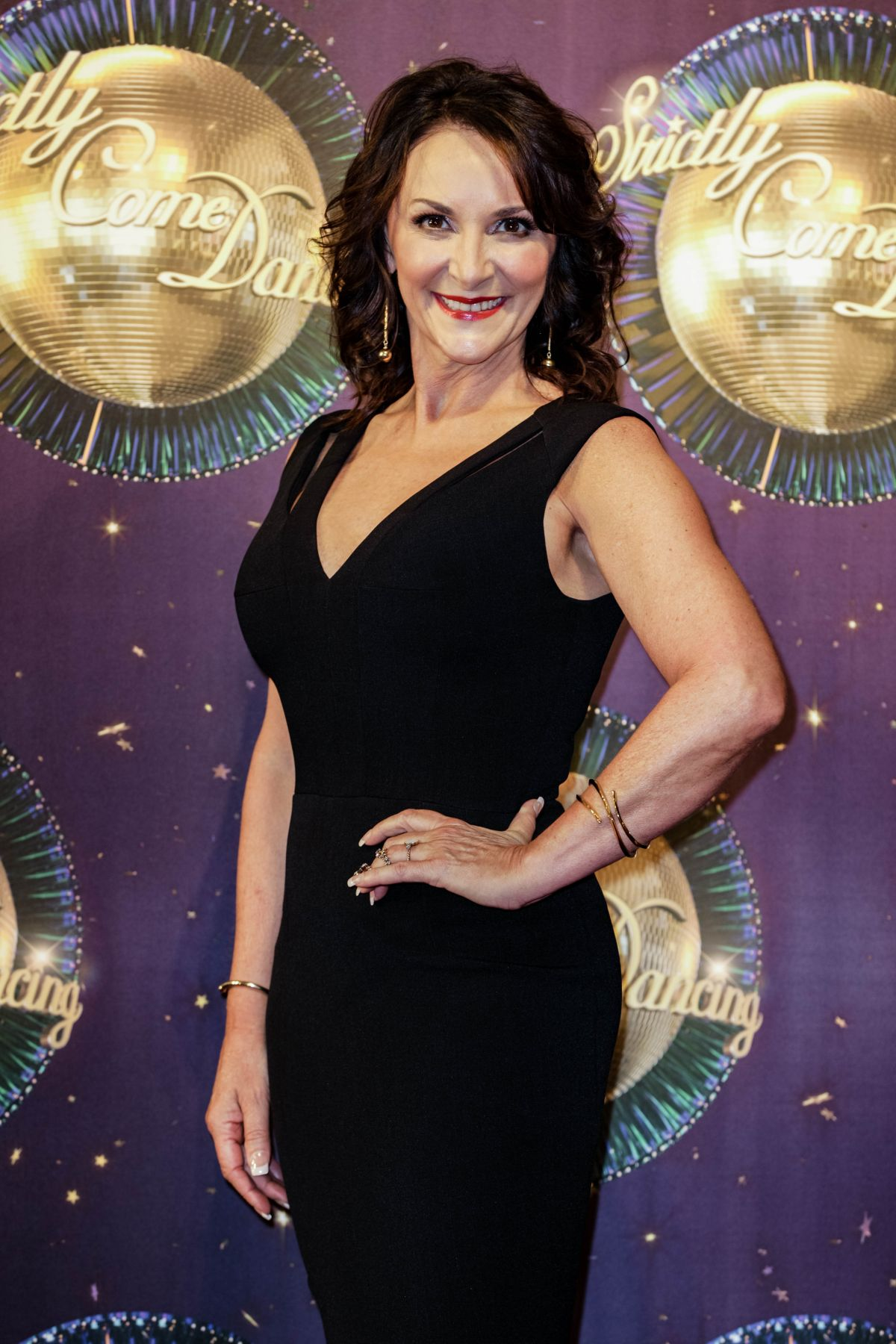 SHIRLEY BALLAS at Strictly Come Dancing 2017 Launch in London 08/28/2017