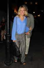 SIENNA MILLER Leaves Apollo Theatre in London 09/09/2017