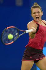 SIMONA HALEP at 2017 WTA Wuhan Open 09/26/2017