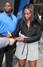 SLOANE STEPHENS at Media Rounds to Discuss Her First Major Tennis Title in New York 09/11/2017