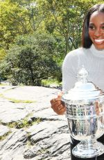 SLOANE STEPHENS with US Open Women