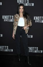 SOFIA CARSON at Knott's Scary Farm Celebrity Night in Buena Park 09/29/2017