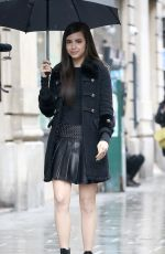 SOFIA CARSON on the Set of a Photoshoot in Paris 09/16/2017