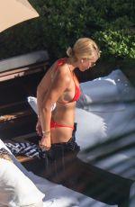 SOFIA RICHIE in Bikini Top at a Beach in Miami 09/23/2017