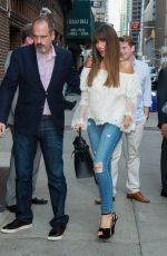 SOFIA VERGARA at Late Show with Stephen Colbert in New York 09/26/2017