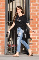 SOFIA VERGARA in Ripped Jeans Iut in Los Angeles 09/23/2017