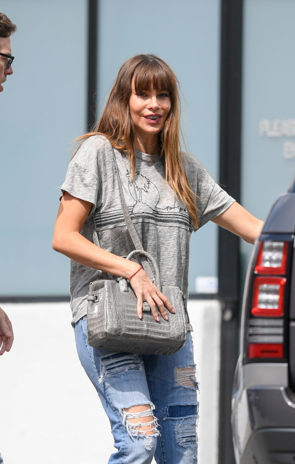SOFIA VERGARA Out Shopping in Beverly Hills 09/18/2017