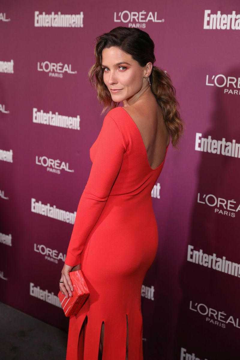 SOPHIA BUSH at 2017 Entertainment Weekly Pre-emmy Party in West Hollywood 09/15/2017