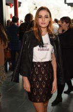 SOPHIE SKELTON at Markus Lupfer Fashion Show at London Fashion Week 09/16/2017
