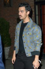 SOPHIE TURNER and Joe Jonas Night Out in New York 09/15/2017