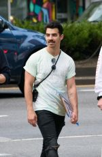 SOPHIE TURNER and Joe Jonas Out Shopping in New York 09/15/2017