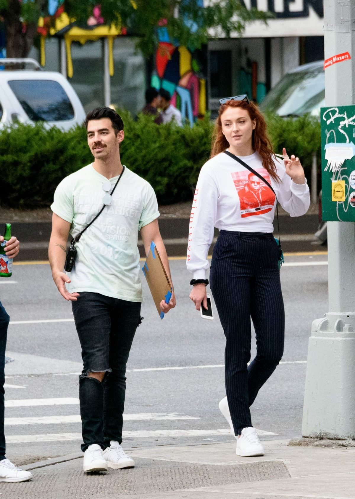 SOPHIE TURNER Out Shopping in New York 09/15/2017