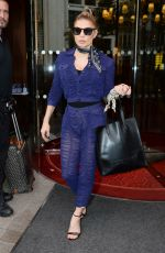 STACY FERGIE FERGUSON Leaves Her Hotel in Paris 09/28/2017