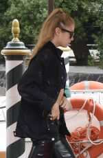 STELLA MAXWELL Arrives at Lido in Venice 09/05/2017