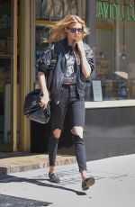STELLA MAXWELL Out in New York 09/01/2017
