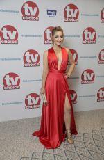 STEPHANIE WARING at TV Choice Awards in London 09/04/2017