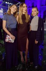 SUKI and IMMY WATERHOUSE at Salvatore Ferragamo Fashion Show in Milan 09/23/2017