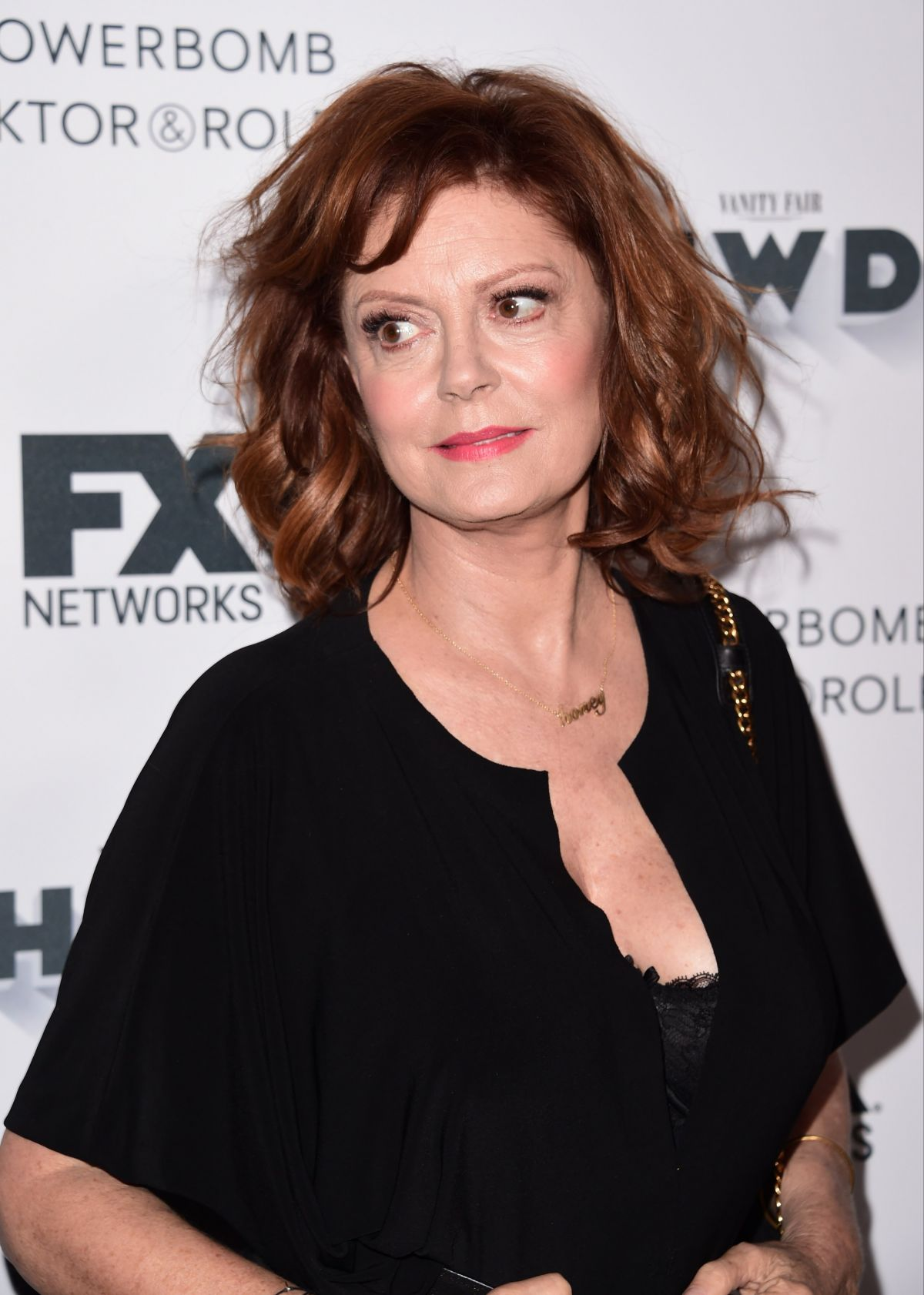 SUSAN SARANDON at FX and Vanity Fair Emmy Celebration in Century City 09/16/2017