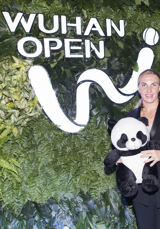 SVETLANA KUZNETSOVA at 2017 WTA Wuhan Open Player Party in Wuhan 09/23/2017