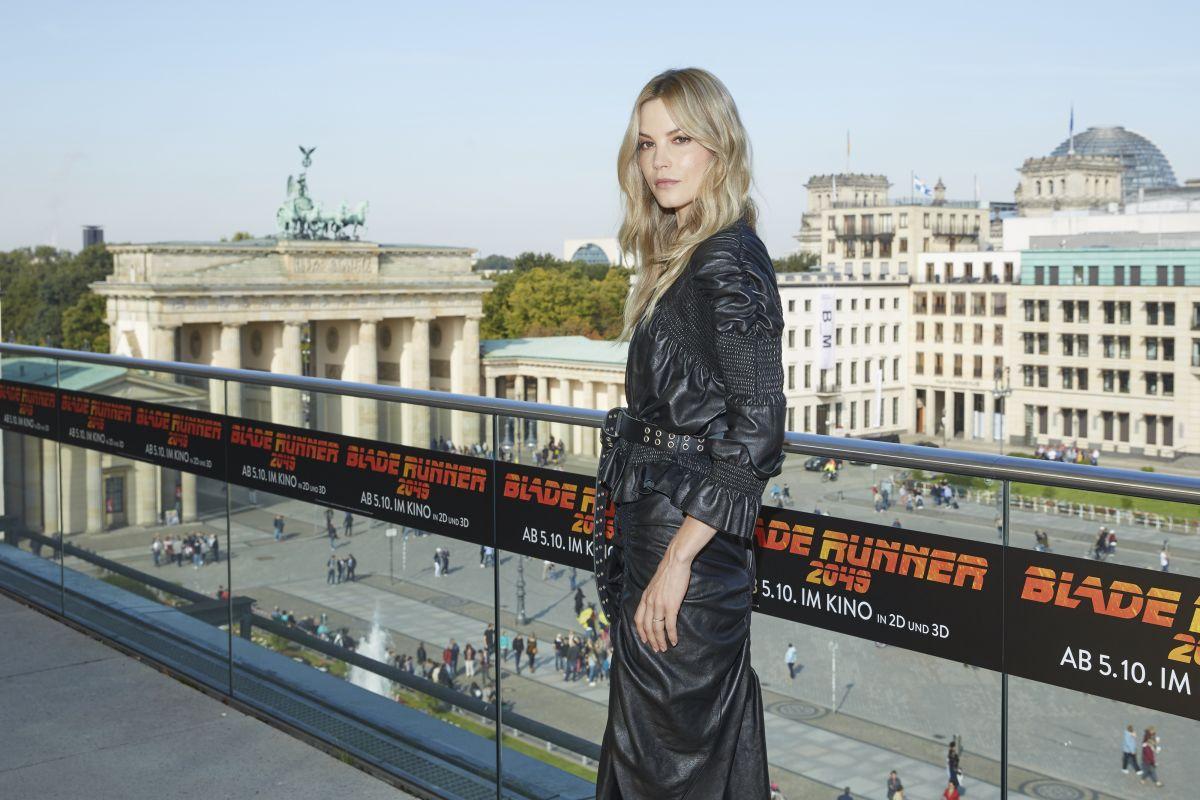 SYLVIA HOEKS at Blade Runner 2049 Photocall in Berlin 09/17/2017