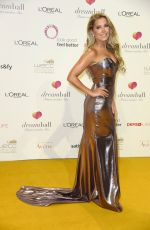 SYLVIE MEIS at DKMS Life Dreamball 2017 in Berlin 09/20/2017
