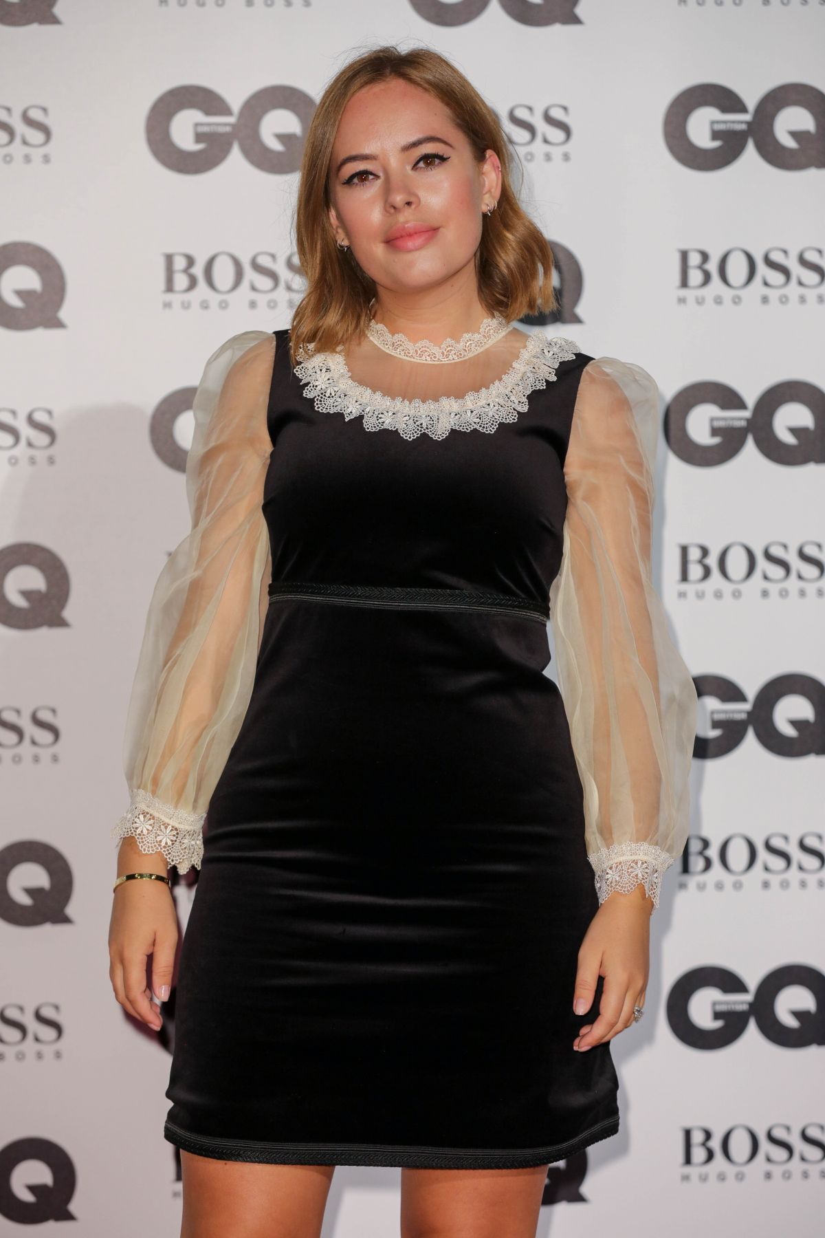 TANYA BURR at GQ Men of the Year Awards 2017 in London 09/05/2017