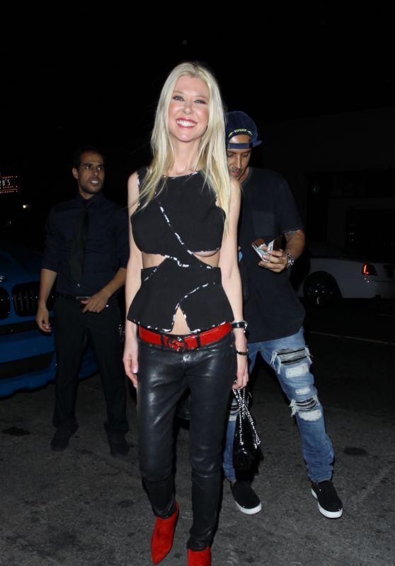 TARA REID Arrives at Christina Milian's Birthday Party in Los Angeles 09/26/2017