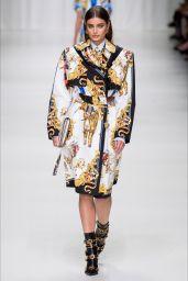 TAYLOR HILL at Versace Fashion Show at Milan Fashion Week