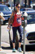 TERI HATCHER in Leggings Out in Los Angeles 09/29/2017