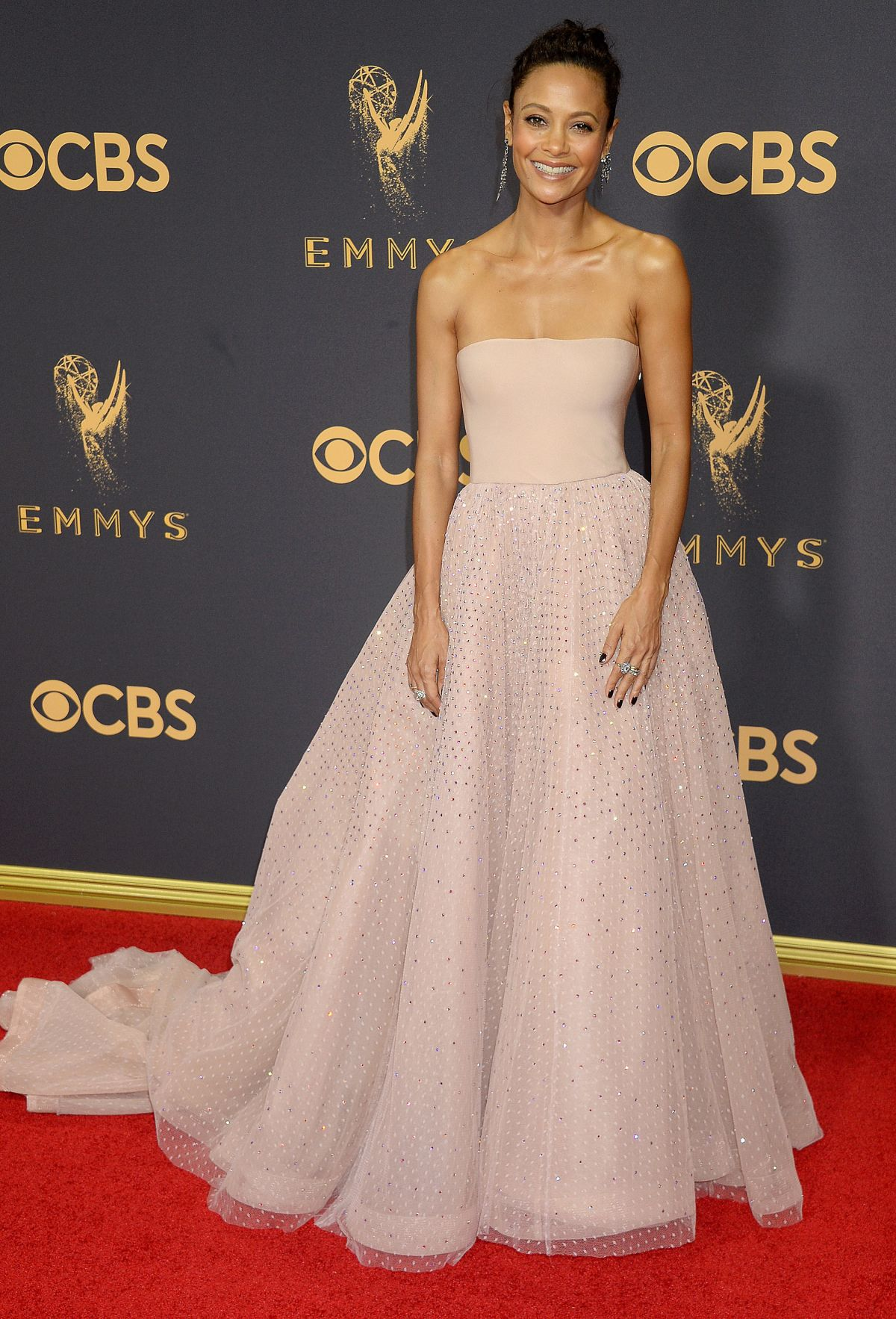 THANDIE NEWTON at 69th Annual Primetime EMMY Awards in Los Angeles 09/17/2017