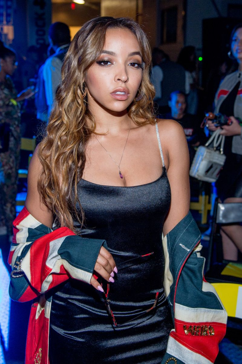 TINASHE at VFiles Fashion Show at New York Fashion Week 09/06/2017
