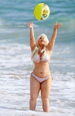 TRISHA PAYTAS in Bikini at a Beach in Los Angeles 09/29/2017