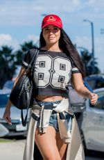 TULISA CONTOSTAVLOS Out and About in Los Angeles 09/12/2017