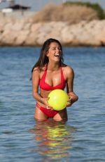 TYLA CARR in Bikini at a Beach in Mallorca 08/31/2017