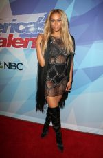 TYRA BANKS at America's Got Talent, Season 12 Final Week in Hollywood 09/19/2017