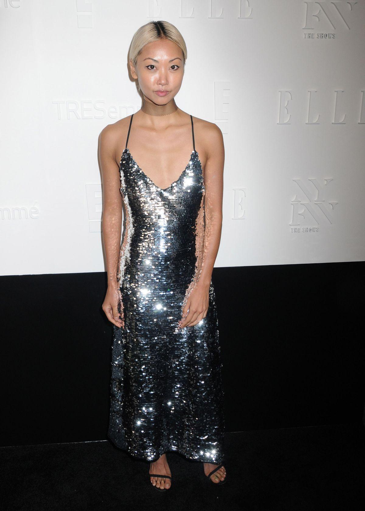 VANESSA HONG at E!, Elle & Img Host New York Fashion Week Kickoff Party 09/06/2017