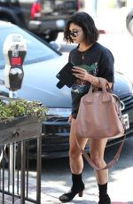 VANESSA HUDGENS Arrives at a Spa in West Hollywood 09/05/2017