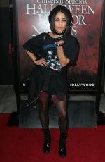 VANESSA HUDGENS at Halloween Horror Nights Opening Night in Hollywood 09/15/2017
