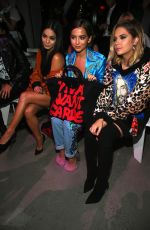 VANESSA HUDGENS at Jeremy Scott Fashion Show at New York Fashion Week 09/08/2017