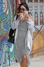 VANESSA HUDGENS Out and About in Studio City 09/14/2017