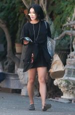 VANESSA HUDGENS Out for Lunch at Aroma Cafe in West Hollywood 09/12/2017