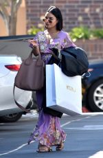 VANESSA HUDGENS Out Shopping in Beverly Hills 09/06/2017