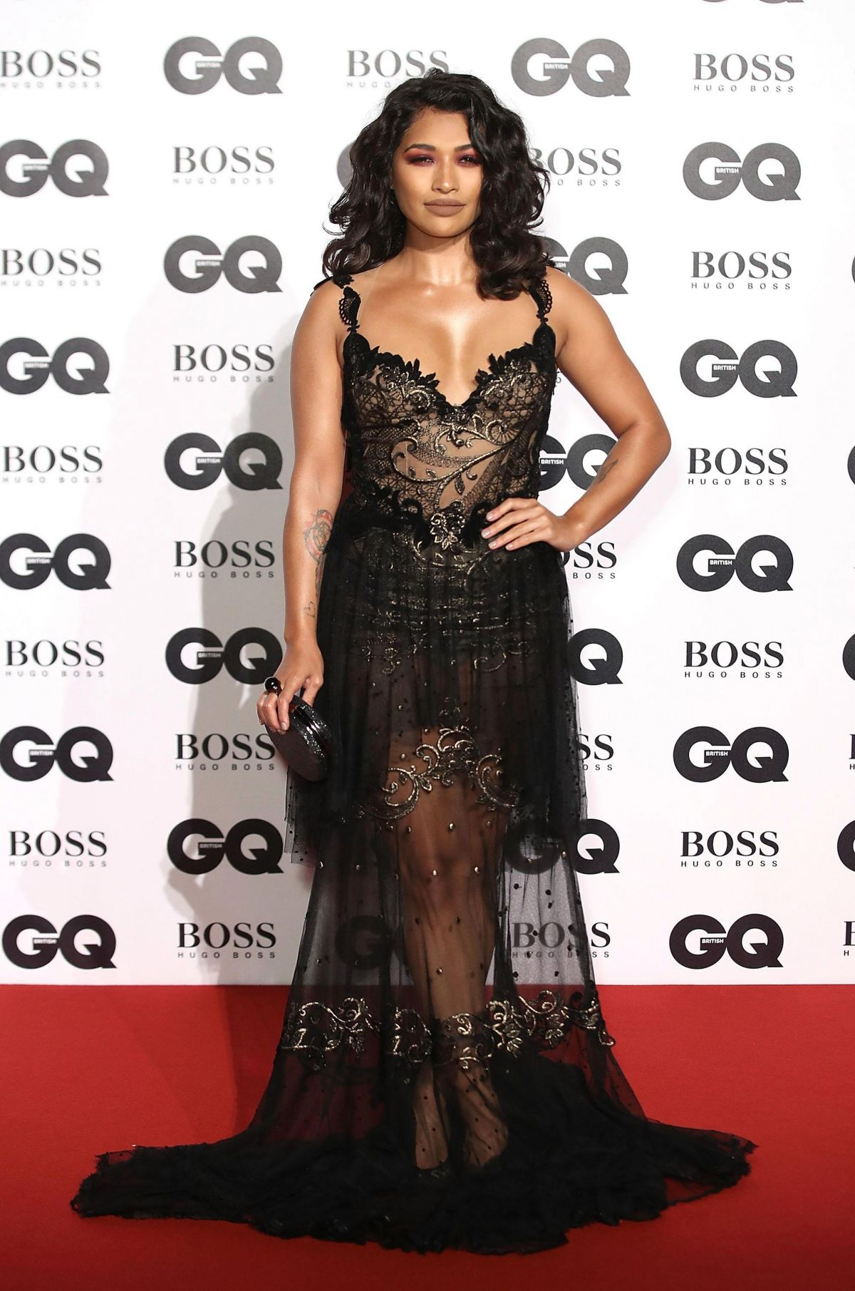 VANESSA WHITE at GQ Men of the Year Awards 2017 in London 09/05/2017