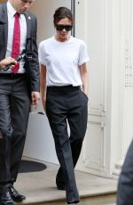 VICTORIA BECKHAM Out in London 09/05/2017